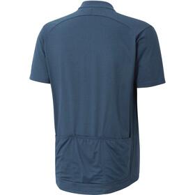 Ziener Cabuto Maillot de cyclisme Homme, antique blue